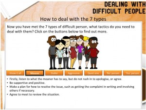 Dealing with difficult people - 1