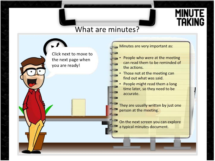 5 tips for taking minutes at meetings   Real LearnerReal Learner